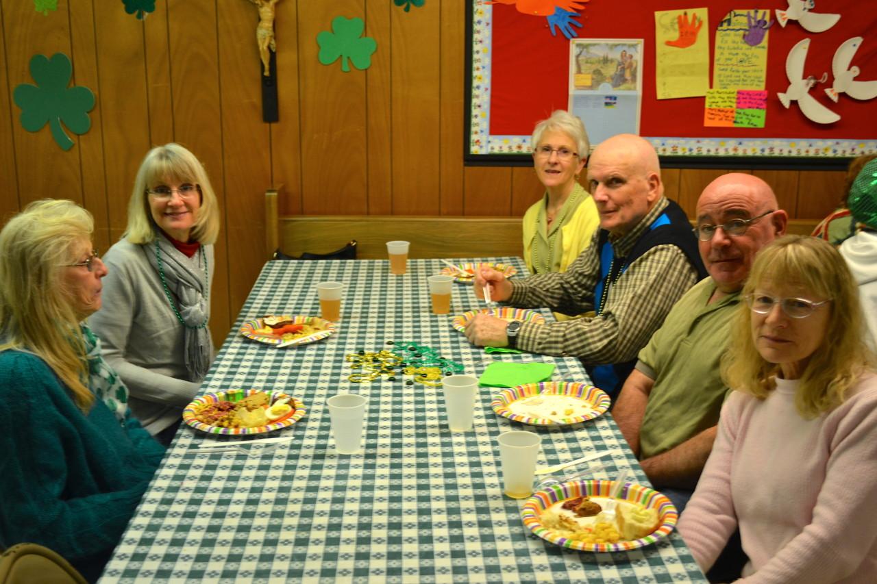 2015 Saint Patrick's Dinner